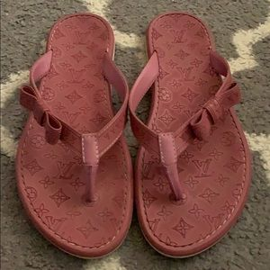 Louis Vuitton Impanema Rubber Thong Sandals